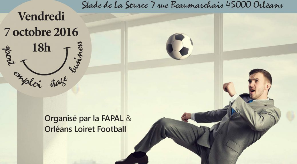 Participez aux FAPALIADES Football le 7 octobre 2016